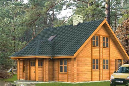 дома на основе деревянного каркаса г.Бердск