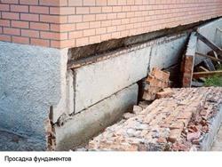 Восстановление фундамента г.Бердск